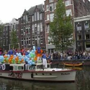 Amsterdam Canal pride 2002