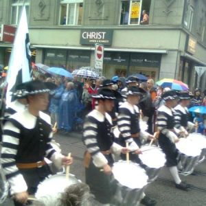 Tattoo-Parade Basel 21. 7. 2012
