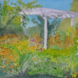 Plein Air Watercolors, 2014