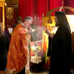 Visit of Metropolitan Silouan to St Aidan's, 11th and 12th March 2017