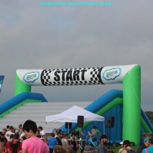 RochesterFest Insane Inflatable 5k Run