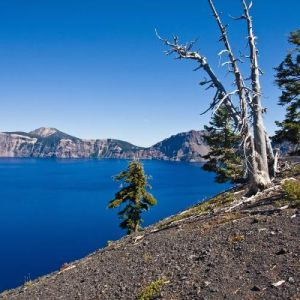 On Crater Lake