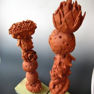 Ceramics - Terracotta pods