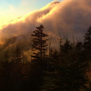 Mountain On Fire, View from Clingman's Dome, 2015