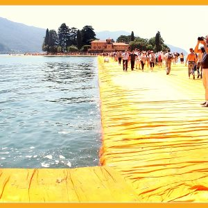 THE FLOATING PIERS - CHRISTO