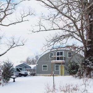 BUILDING A QUONSET HOME