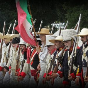 The Battle of the ALAMO Re-enactment Western Park 24-25 June 2017