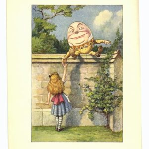 Humpty Dumpty sat on a wall in S.A.
