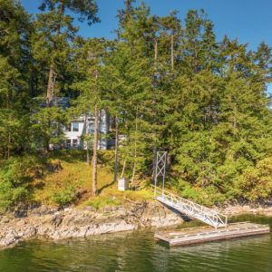 429 Scott Point - oceanfront on Salt Spring