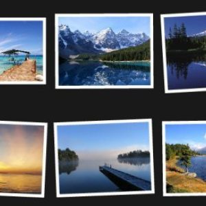 Sample PostcardViewer