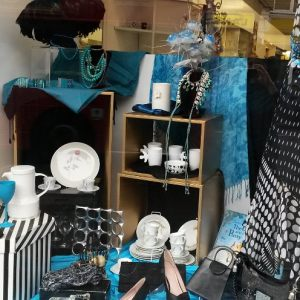 Kathy Dalwood charity shop windows