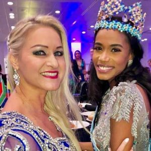 Eva Zellhofer at MISS WORLD 2019 LONDON